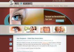 2011 Internet Advertising Competition for Best Medical Website - Patel Eye Associates (http://pateleyeassociates.com)