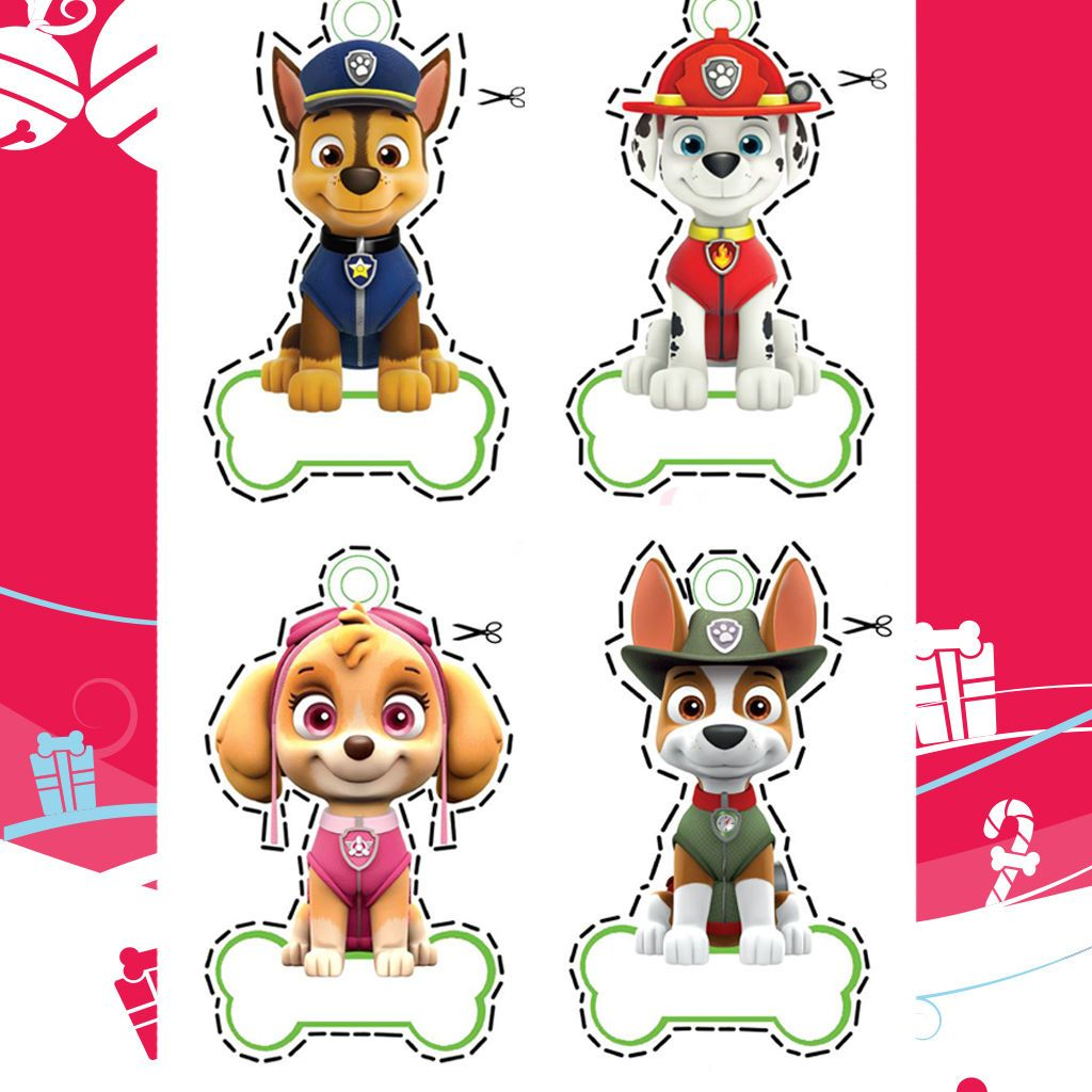 Preschool Paw Patrol Number Worksheet 5