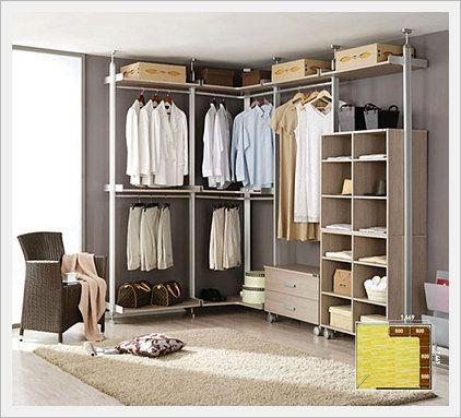Closet system wardrobe furniture codi n5