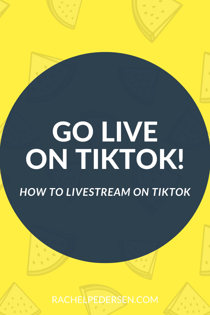How To Go Live On Tiktok In 2020 Live Streaming Things To Sell 1000 Followers