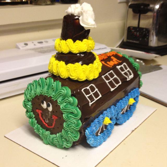 Choo Choo cake Train from Baskin Robbins. Super Amazing!!