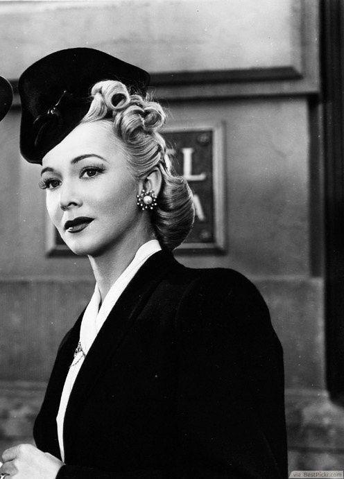 1940S Hairstyles 1940's Hat Fashion ❥❥❥ Httpbestpickr1940Shairstyles