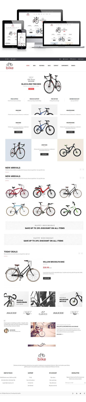 Ap Bike Prestashop Theme | Template