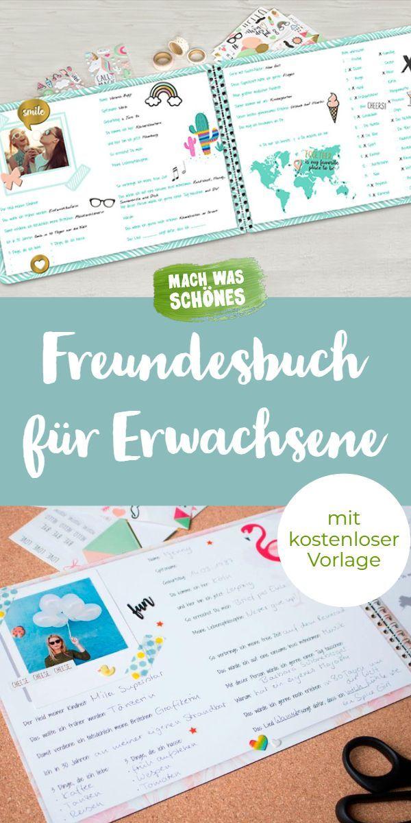 Trendtipp: Freundebuch für Erwachsene ⋆ Mach was Schönes