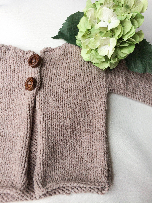 a675cf16d Beige hand knitted sweater