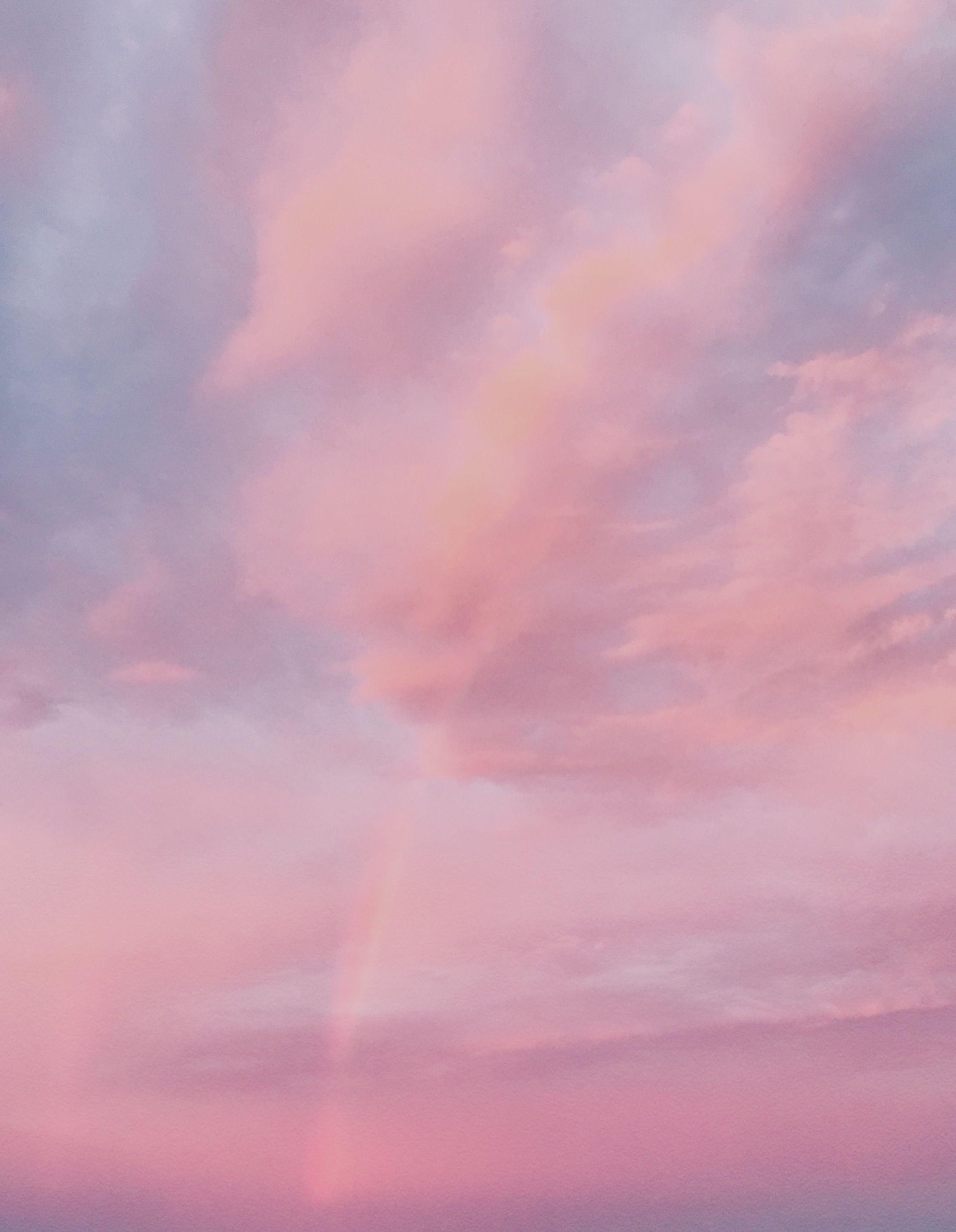 C Ellaoliveir Sky Aesthetic Pink Sky Pastel Pink Aesthetic