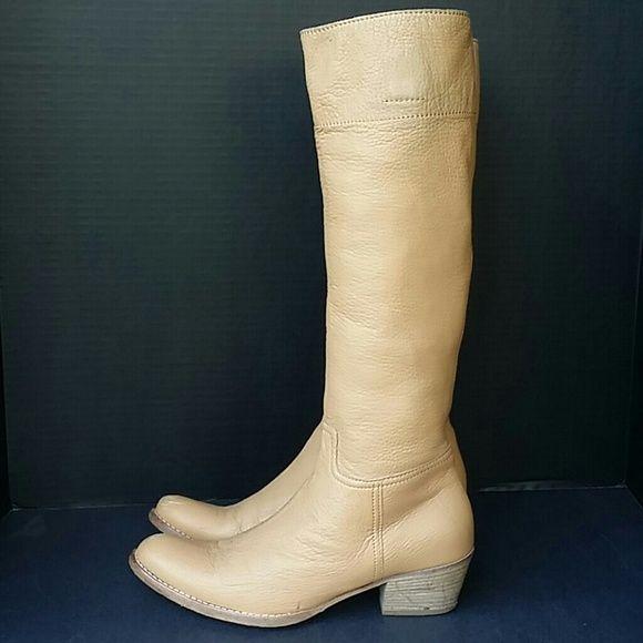 98de138f0020 Spotted while shopping on Poshmark  Miu Miu By Prada Leather Knee Boots!   poshmark