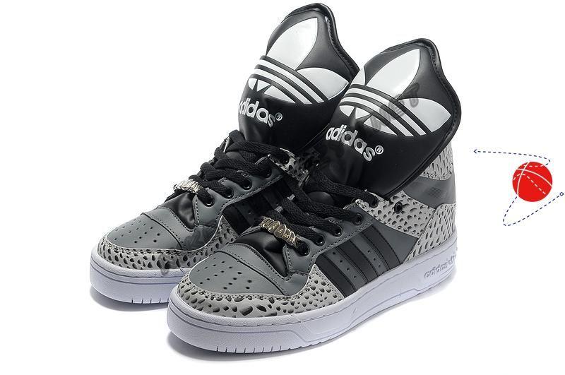 Cheap Buy Adidas X Jeremy Scott Big Tongue Shoes Grey ...