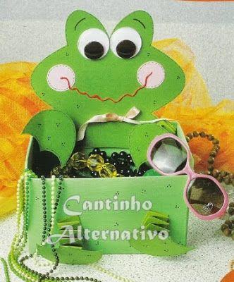 Lembrancinha de Sapinho,UMA ÓTIMA EDEIA AMEI