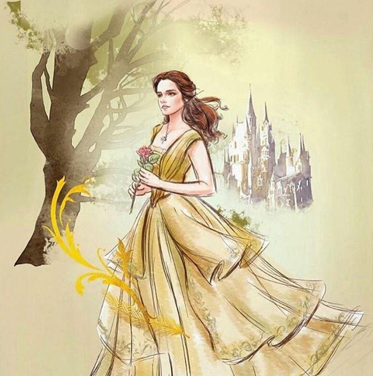 Yellow dress like belle  Pin by Tamilyn Watkins on Pics  Pinterest  Beast Disney art and