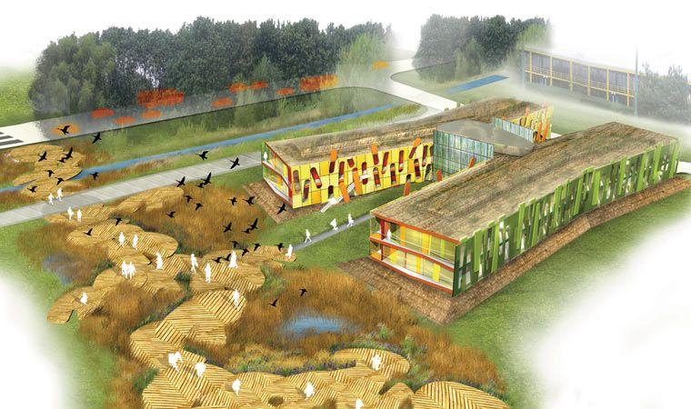Nottingham Science & Technology Park - 3D view | Science ...