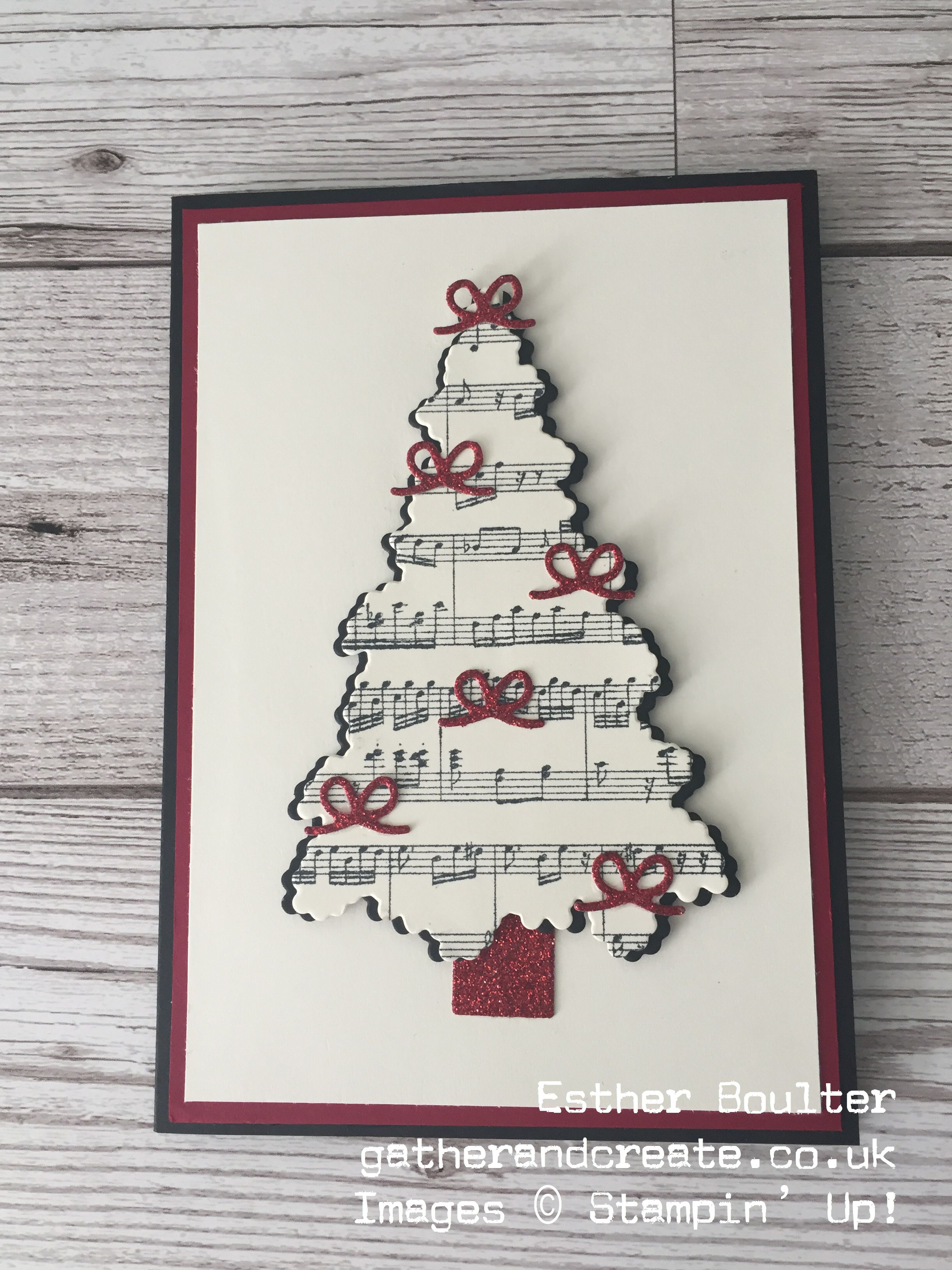 One Christmas Tree 3 Looks Stamping Pinterest Christmas