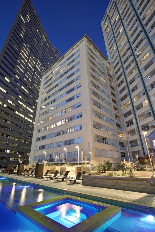 The Mosaic Dallas High Rise Apartments Photos