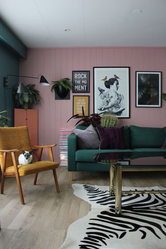 A Northern Norway Home That Isn T Afraid Of Color Retro Home