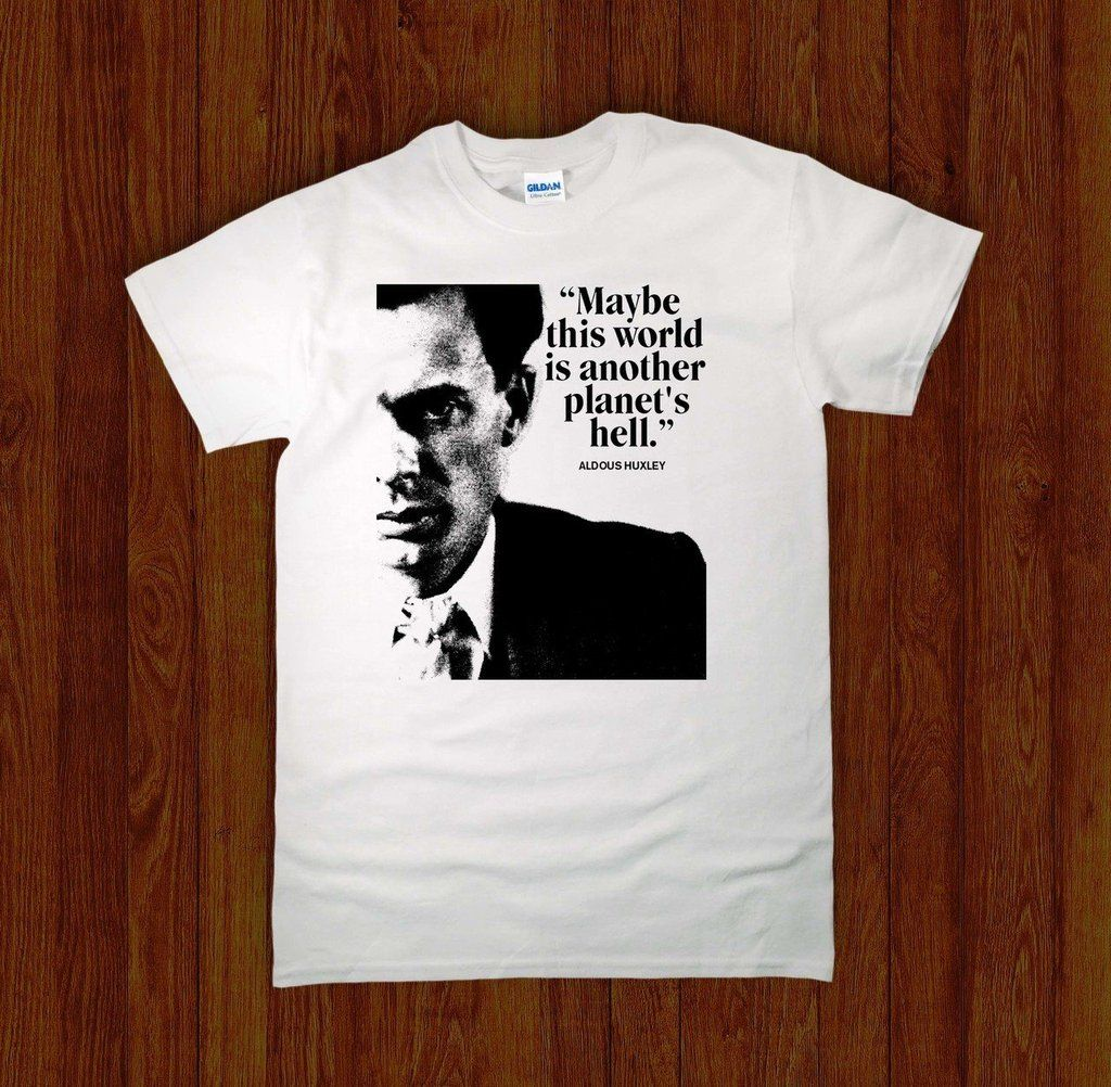 f43953fb ALDOUS HUXLEY ANOTHER PLANETS HELL Shirt | T-Shirts | Shirts ...