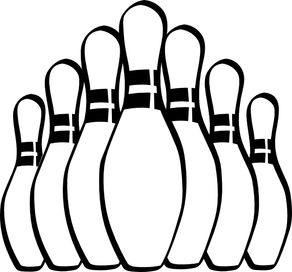 bowling pin coloring pages - photo#12