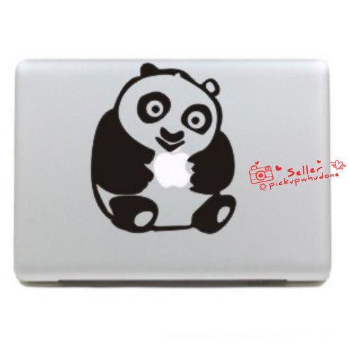 Kung Fu Panda baby humor apple MacBook pro Air Skin Art