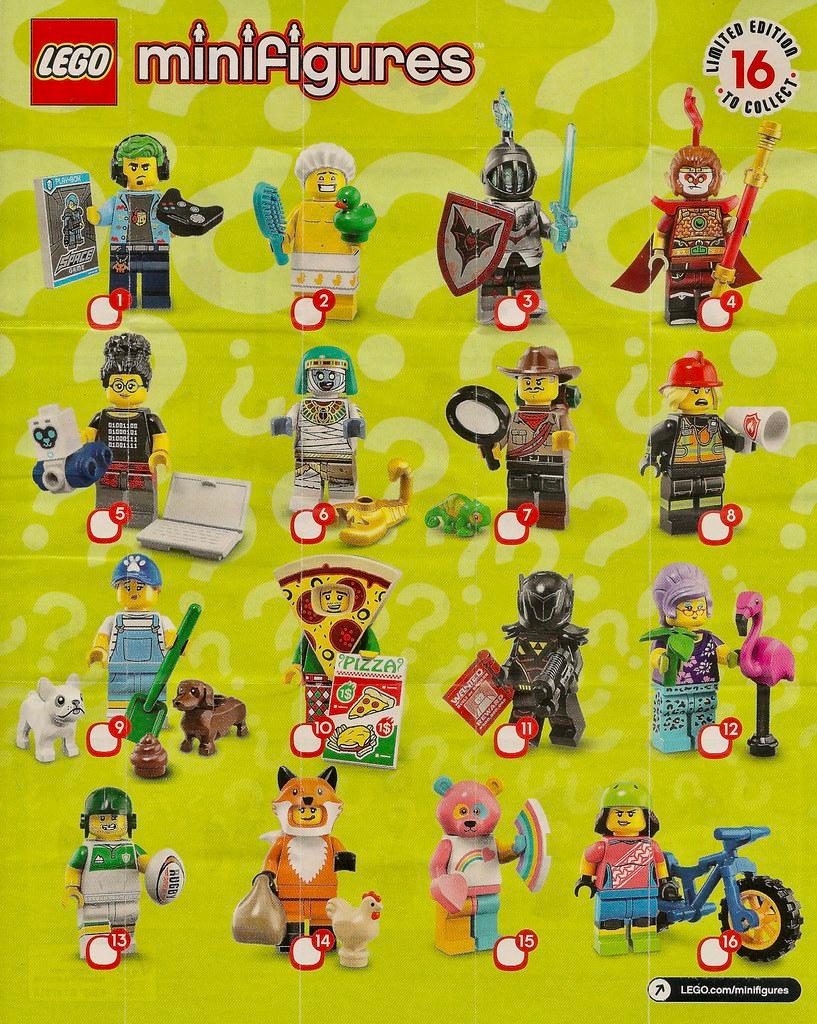 Lego 71025 minifiguras coleccionables serie 19 todos los 16 personajes-con embalaje original nuevo 2019