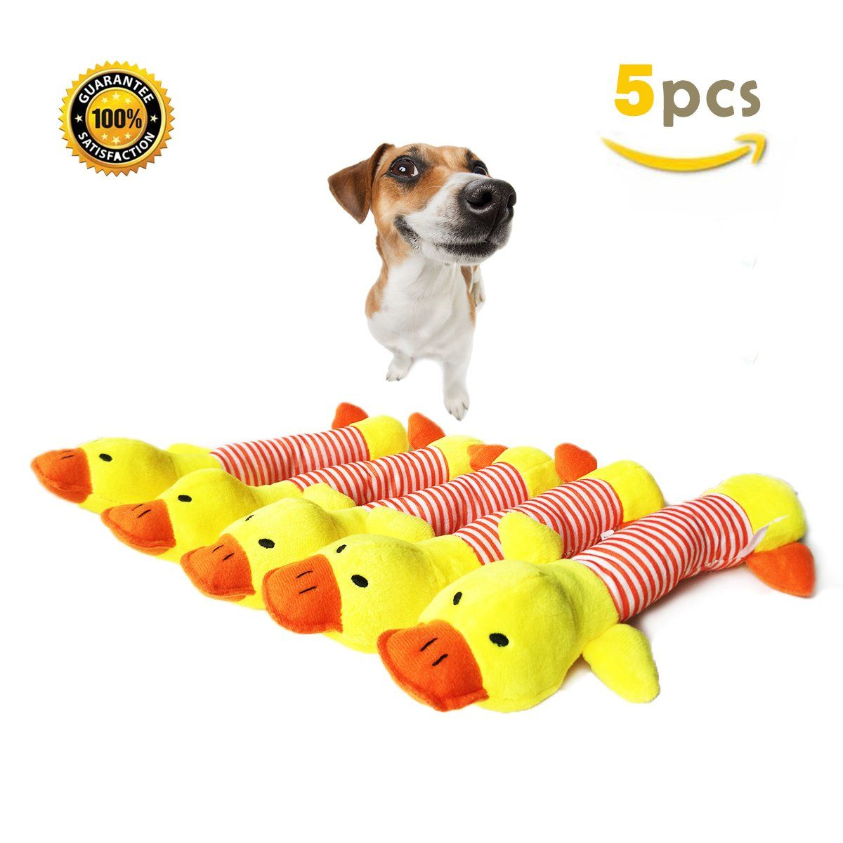 Buibiiu Dog Toys Dog Teething Toys Puppy Chew Toys Best Dog Chew Toys 5 Squeaky Ducks Do Hope That You Actually Dog Teething Toys Toy Puppies Dog Chew Toys