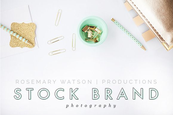 Meredith Styled Stock Brand Flat by RW Productions on Creative - stock resume