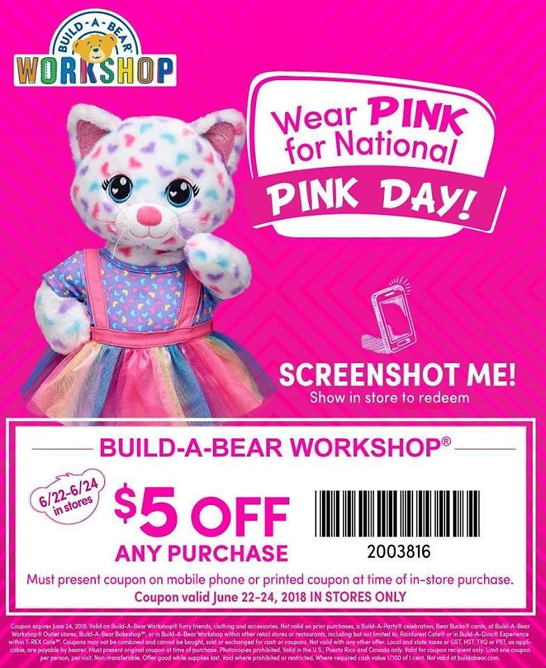 mobile coupons for build a bear