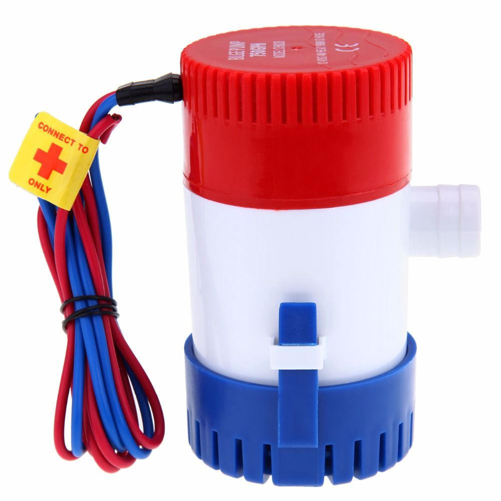 750GPH 12V Electric Submersible Bilge Pump for Marine Yacht Silent Water Pump