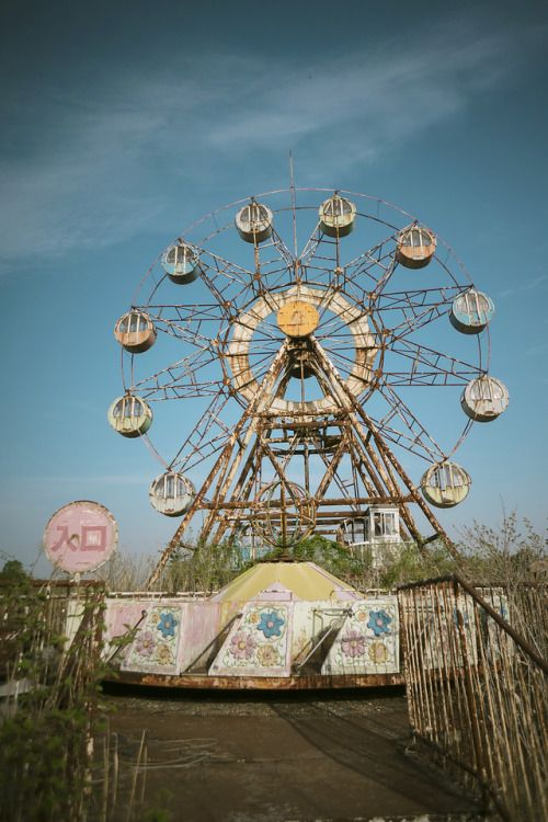Abandoned Amusement Parks Tumblr Abandoned Theme Parks Amusement Park