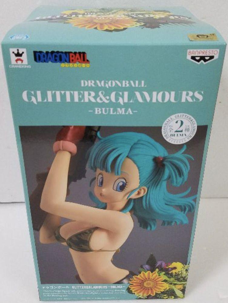Dragon Ball Super DBZ Glitter /& Glamours Figure Bulma Normal color Japan NEW