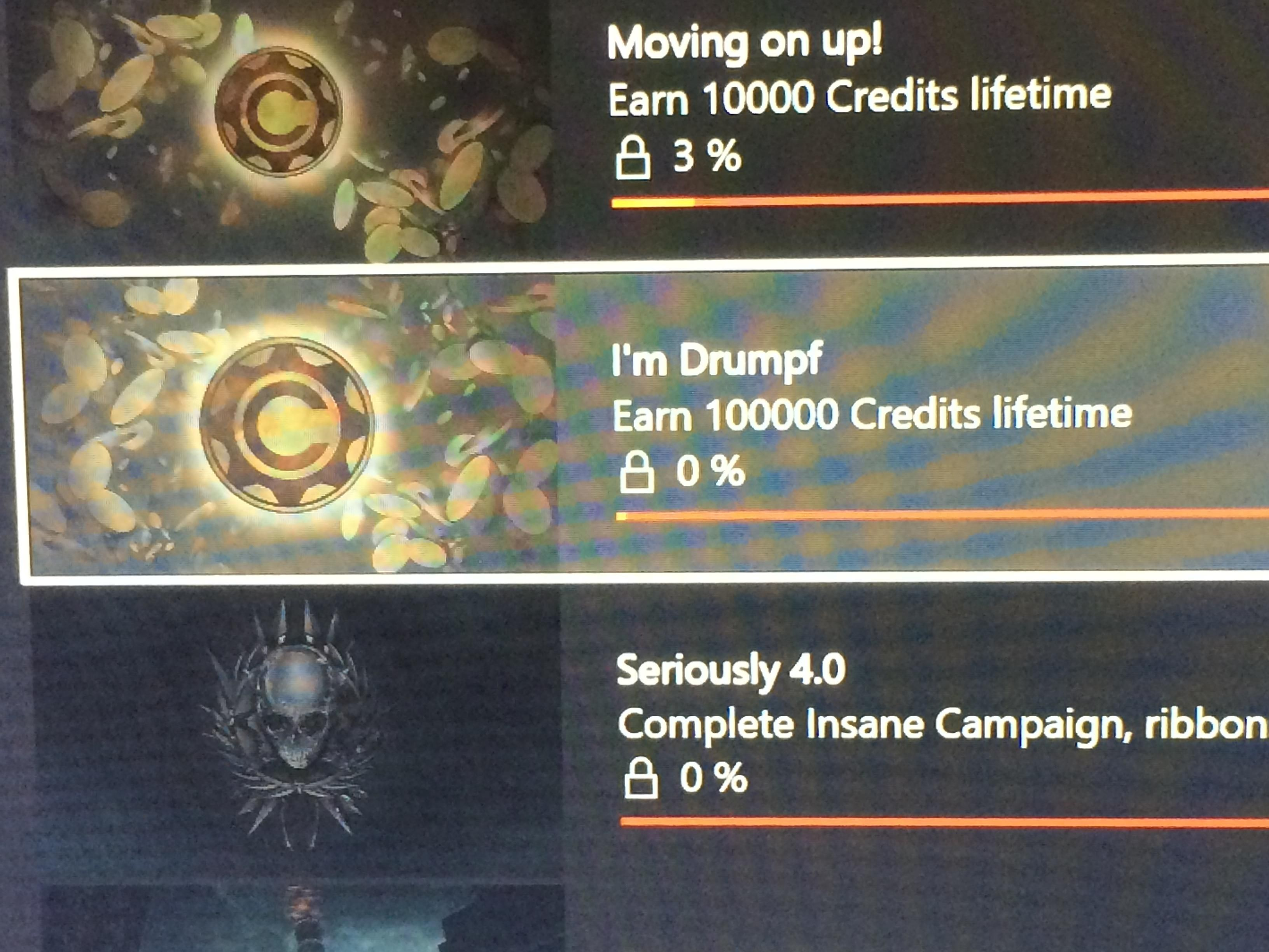 I Was Browsing Through Gears Of War 4 S Achievements When Suddenly