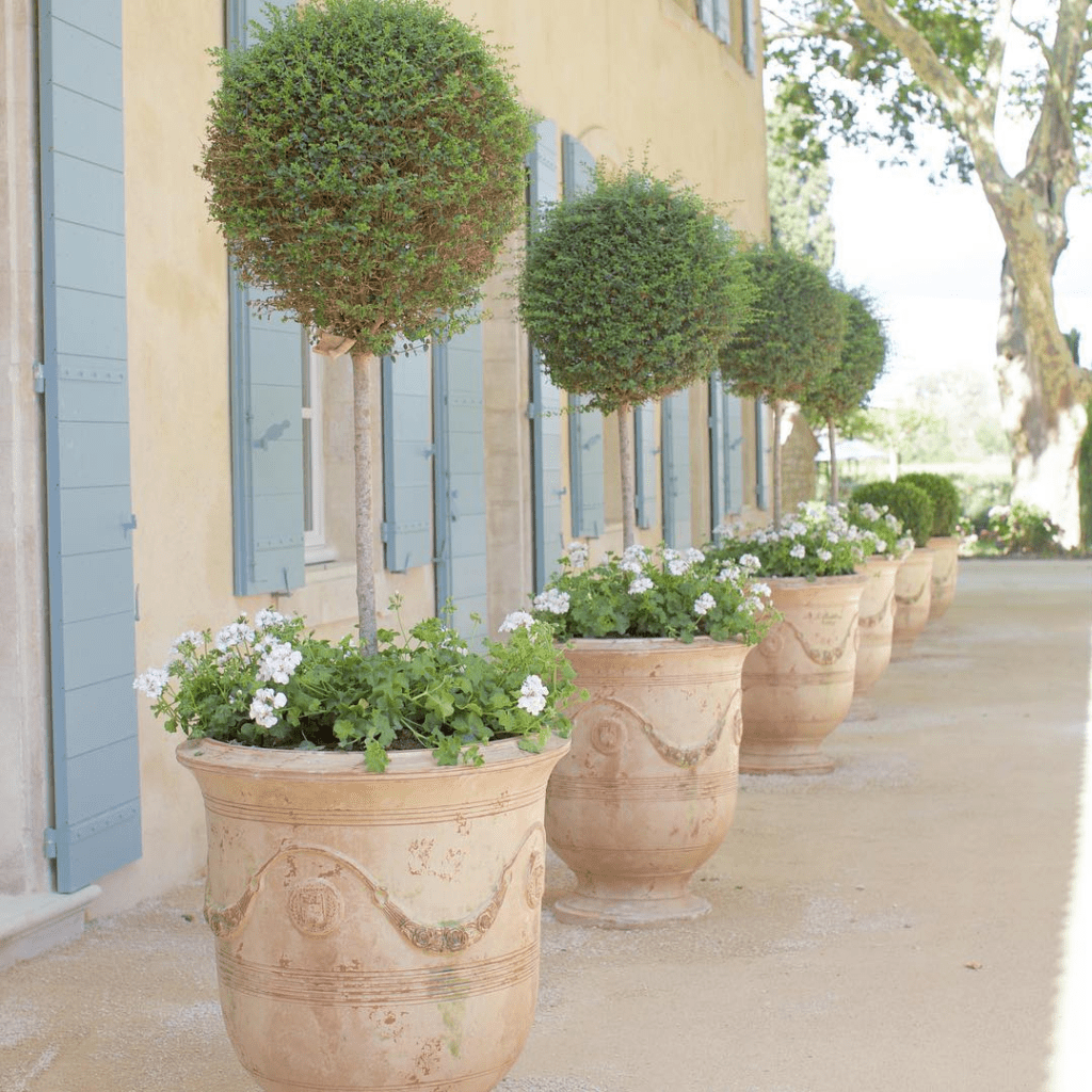 A Fabulous French Farmhouse - The Glam Pad -   10 garden design French provence france ideas