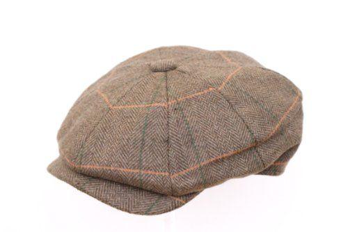 Men s 8 piece Newsboy Gatsby Flat Cap The Hat Outlet http   www ... f0ca13cd477