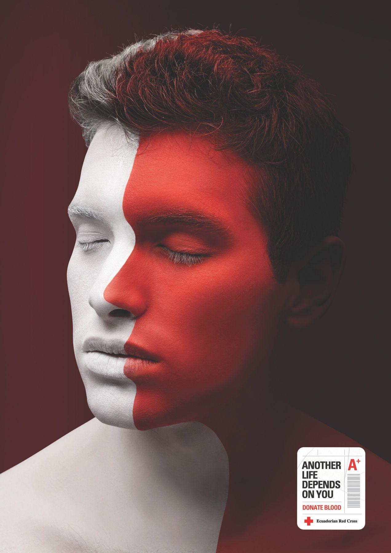 Ecuadorian red cross life inside life a print ad for