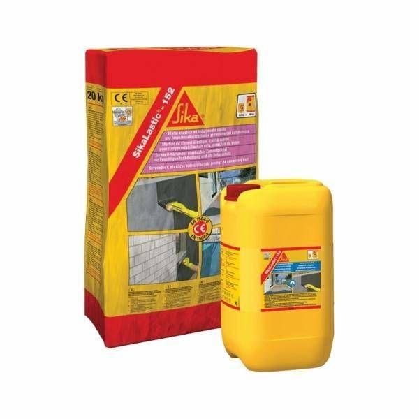 Sikalastic 152 Mortier Ciment Pour L Etancheite Sika Mortier Ciment Etancheite Et Mortier
