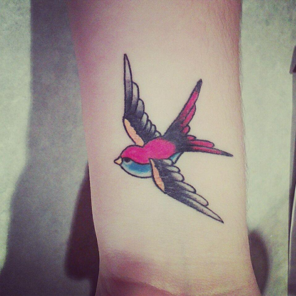 #swallow #tattoo