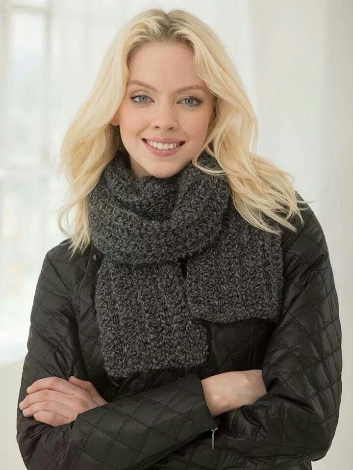 Fluffy scarf http://www.lionbrand.com/patterns/L40345.html?iP=1&p ...