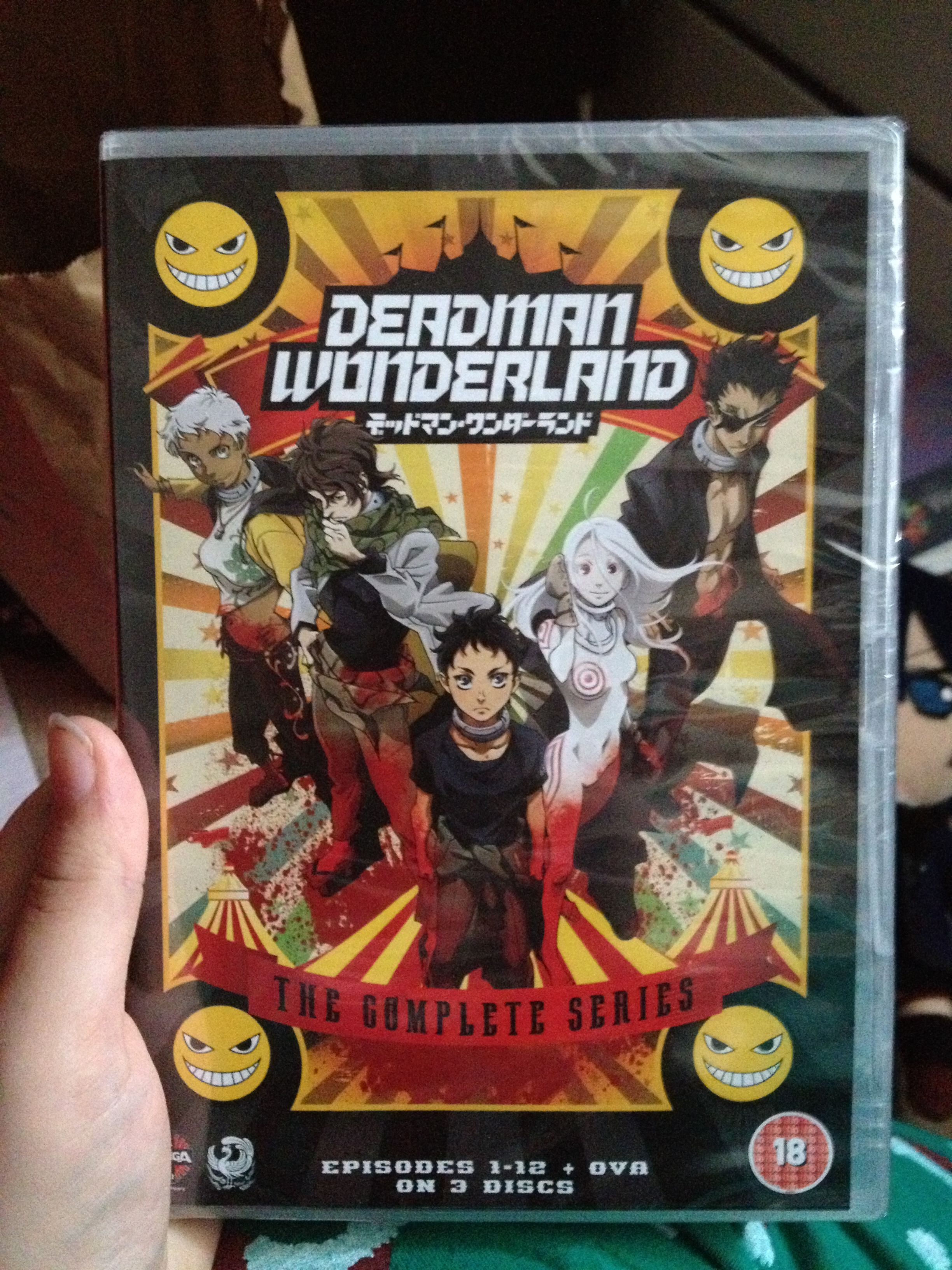 My boyfriend bought me the boxset of Deadman Wonderland