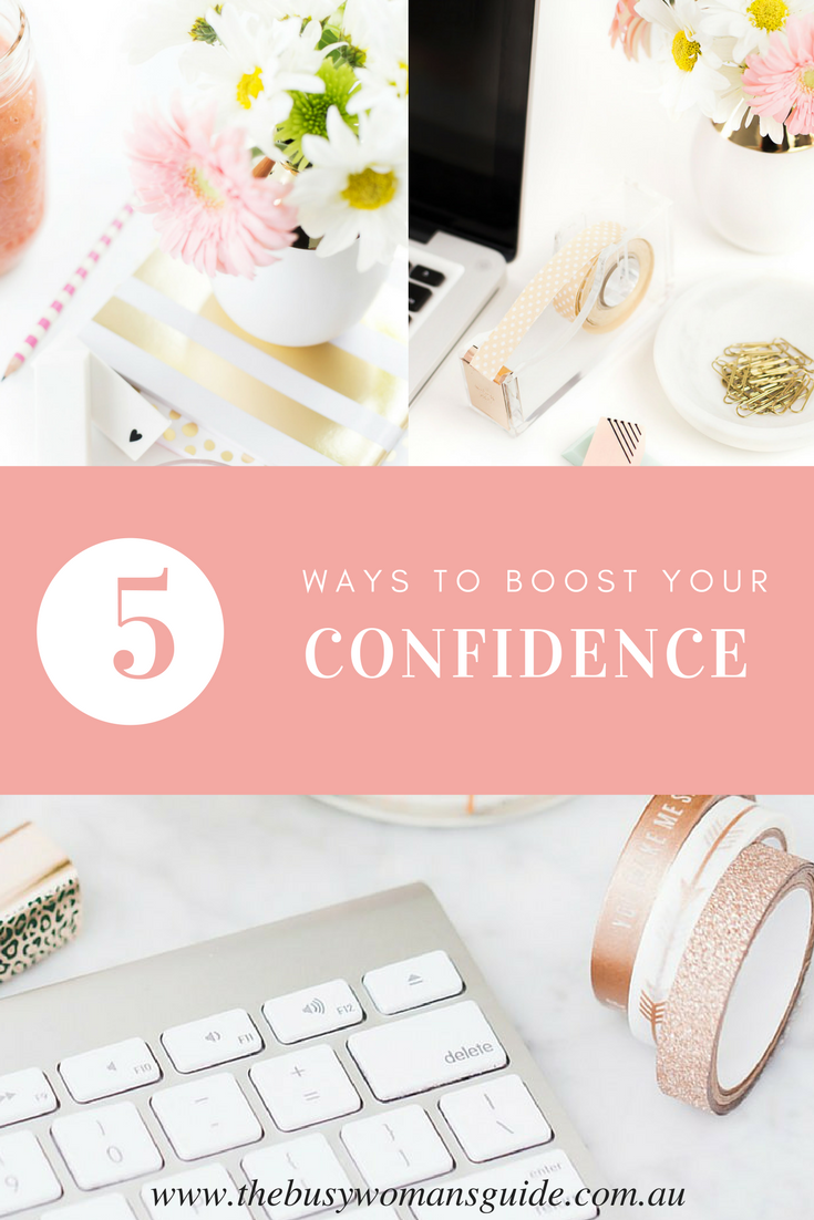 Ready to boost your confidence? Check out these 5 easy ways to boost your confidence today & sign up for the FREE confidence kickstart 5 day challenge.