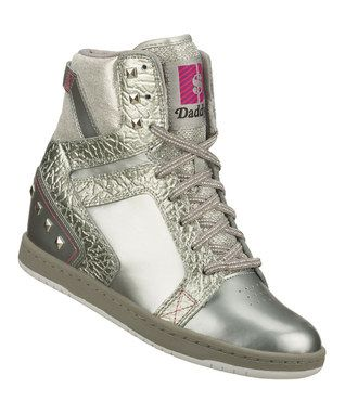 Silver Moolah Dance Party Sneaker by Daddy's Money by Skechers