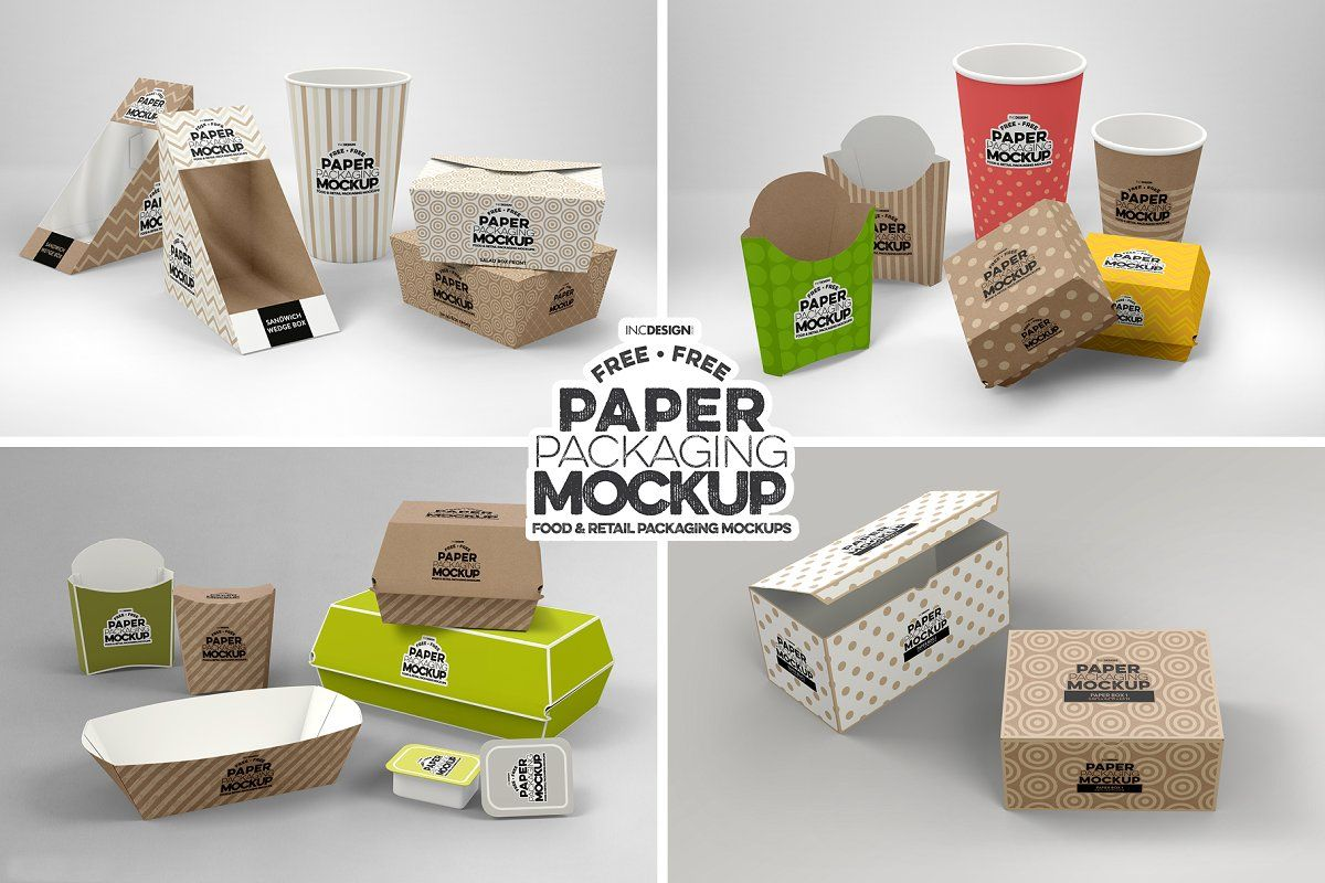 Download Paper Tapered Window Boxes Mockup Sponsored Sponsored Mockup Bundle Free Packaging Free Packaging Mockup Packaging Mockup Paper Packaging