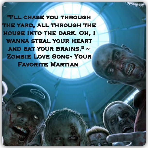 Zombie Love Song ~ Your Favorite Martian  Go download it now that you've been exposed to awesomeness.