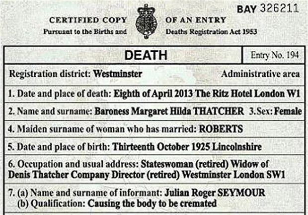 Image result for margaret thatcher grave