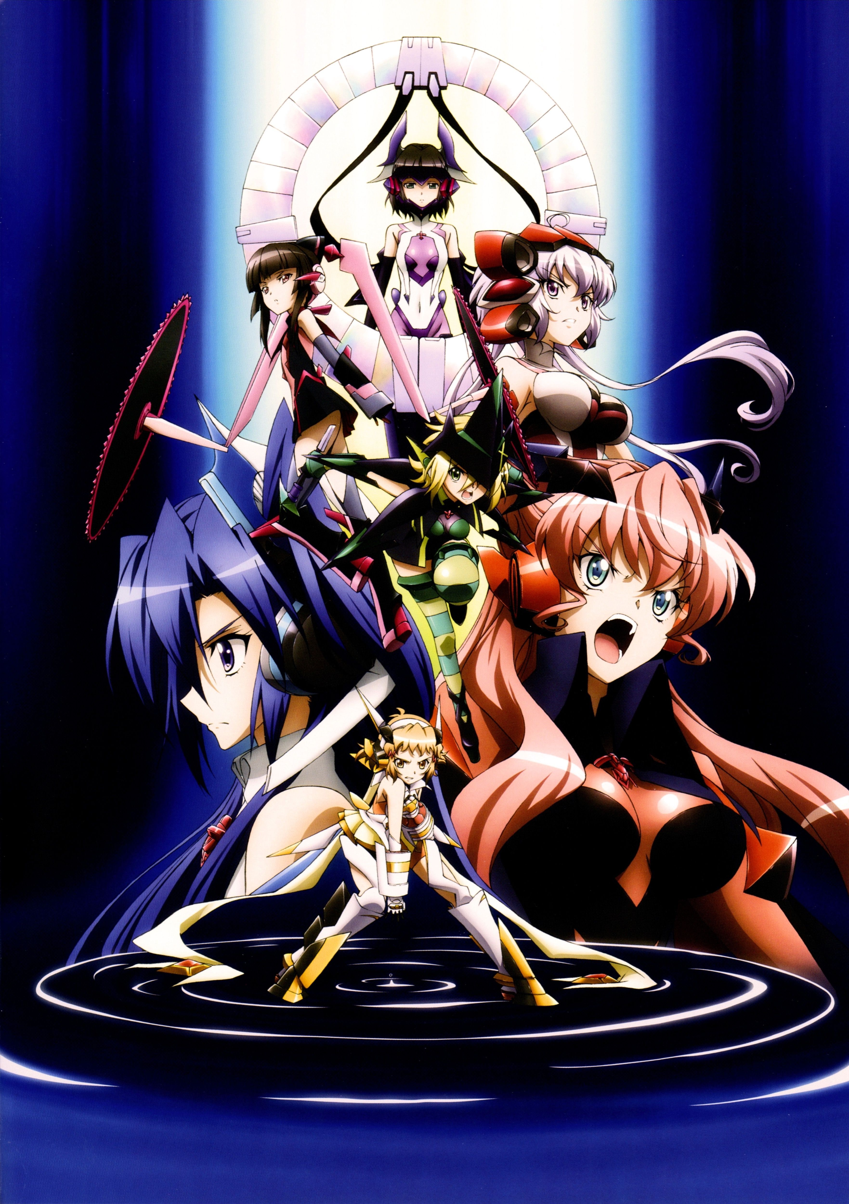 senki zesshou symphogear Part 2 J5NDEF/100 Anime