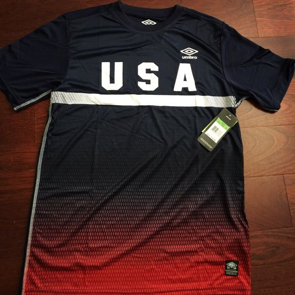 a93c48a23 ... for sale umbro usa soccer team jersey for 15