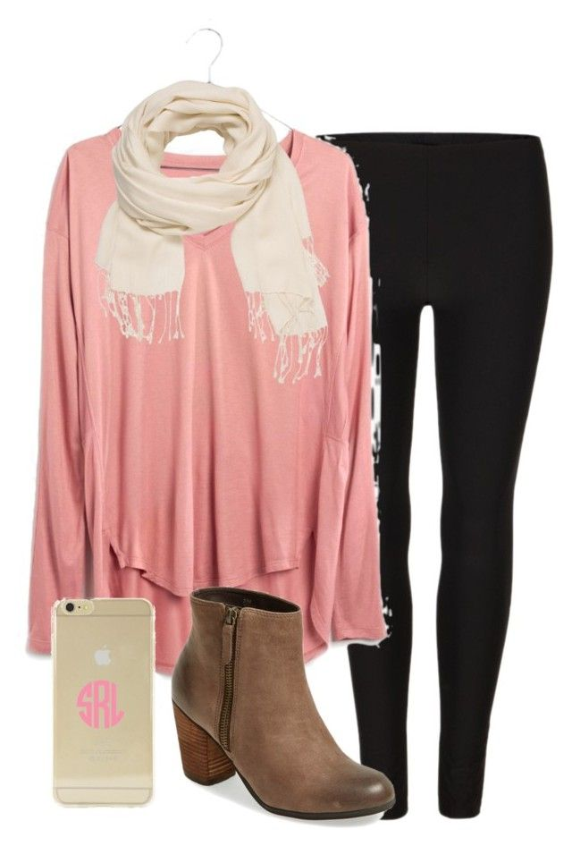 OOTD by prep-lover1 on Polyvore featuring Madewell, AllSaints, BP., maurices, Sonix and Harold's