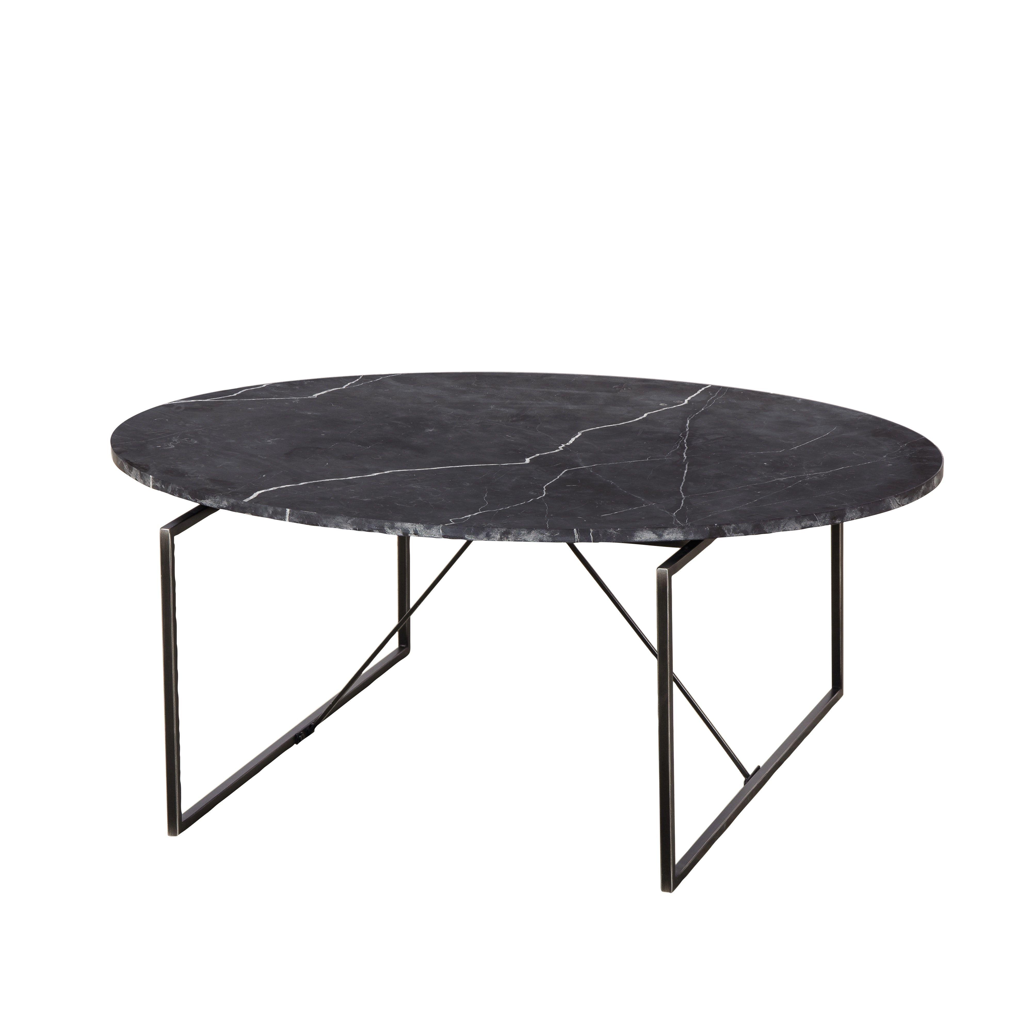 Georgina Coffee Table Black Marble By Sonder Living Coffee Table Marble Tables Design Sconce Decor