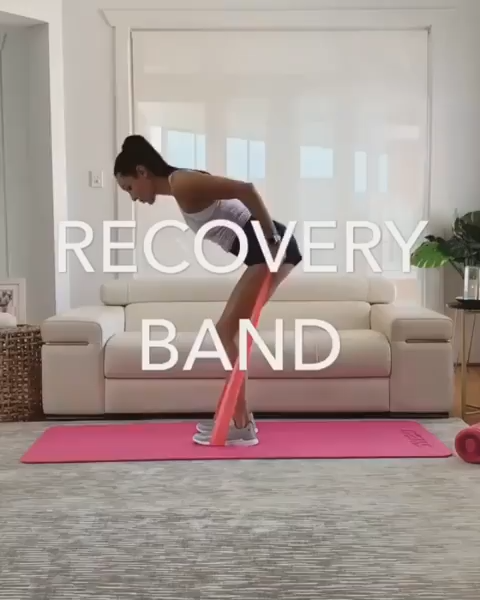 Training with elastic band | Sport | Workout for women