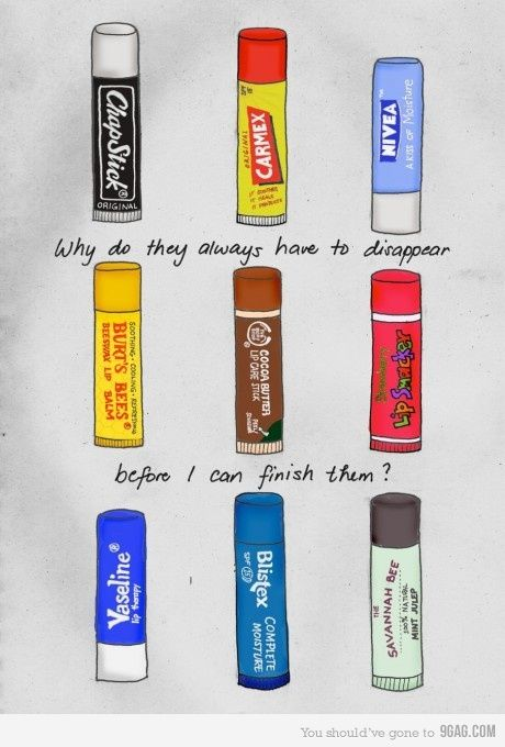 Chap Stick illustration