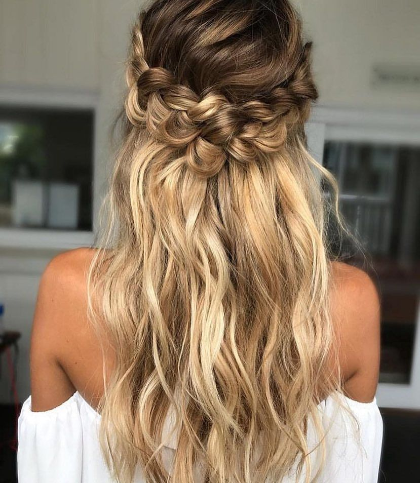 Pin by tessa rossi on ball k pinterest hair style bridesmaid