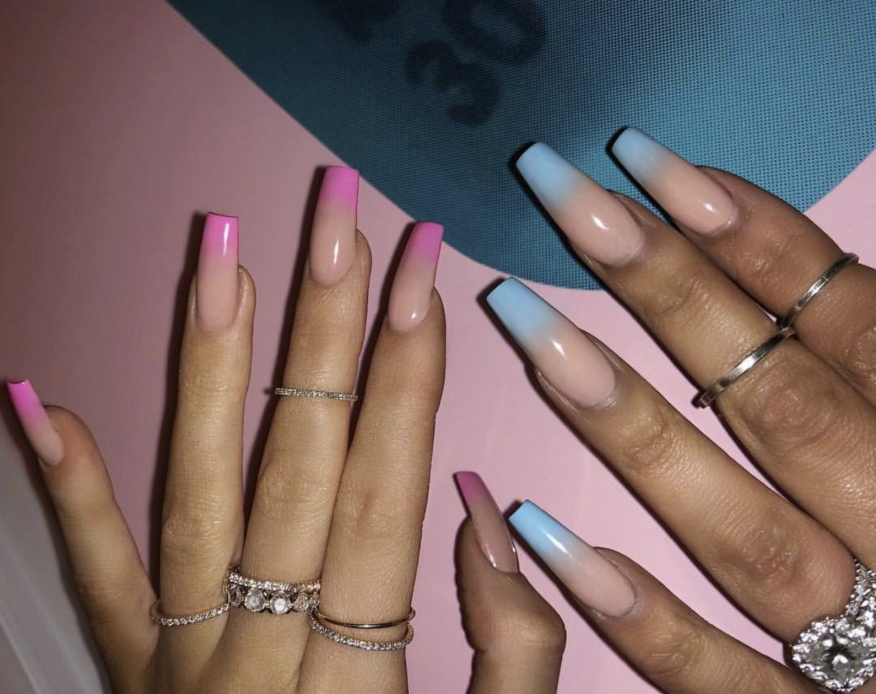Pin By Marisol Meza On Nails Kylie Nails Pink Ombre Nails Nails Inspiration