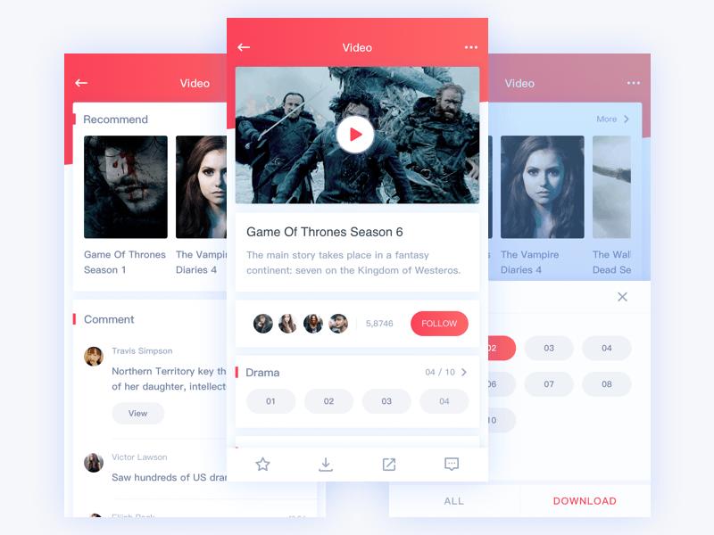 Video App Design App Design Web App Design Video App